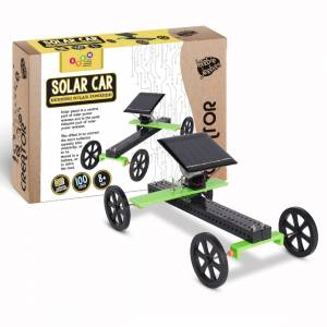 Heebie Jeebies - Creator - Woodkit ( Solar Car )