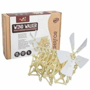 Heebie Jeebies - Creator - Wind Walker ( Wind Powered Strandbeest )