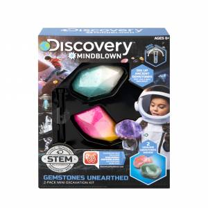 Discovery Mindblown - Treasures Unearthed (2-Pack Mini Excavation Kit)