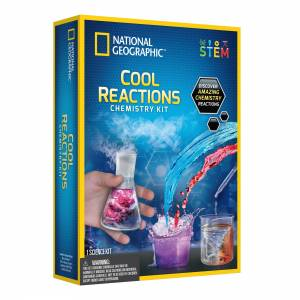 National Geographic - Cool Reactions Chemistry Kit