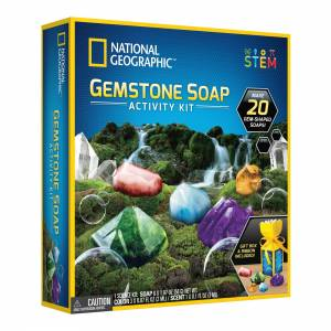 National Geographic - Gemstone Soap Activity Kit