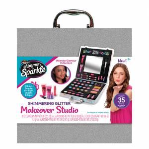 Cra-Z-Art Shimmer 'N Sparkle - Shimmering Glitter Makeover Studio