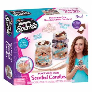 Make Your Own Scented Candles - Chocolate