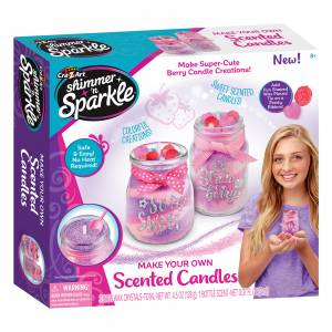 Shimmer N' Sparkle - Make Your Own Scented Candles (Berries)