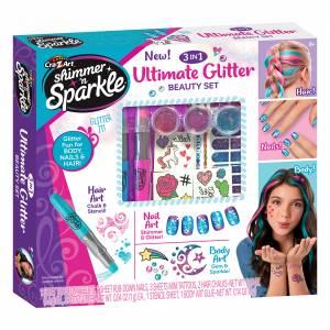 3 in 1 Ultimate Glitter Beauty Set