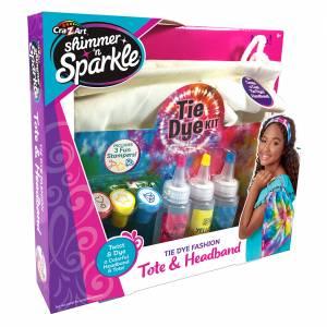 Tie Dye Fashion Tote & Headband Kit