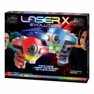 Laser X - Evolution Double Blaster Set