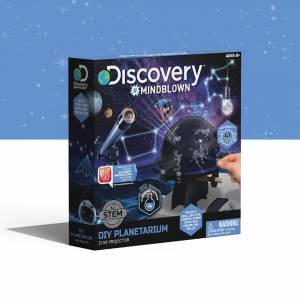 Discovery Mindblown - DIY Planetarium Star Projector