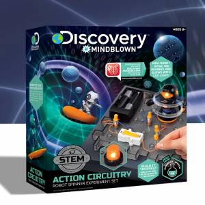 Discovery Mindblown - Action Circuitry - Robot Spinner Experiment Set