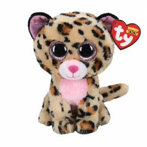 Ty Beanie Boos - Regular Plush - Livvie the Leopard