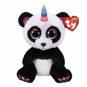 Ty Beanie Boos - Medium Plush - Paris the Panda with Horn