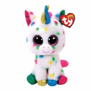 Ty Beanie Boos - Medium Plush - Harmonie the Speckled Unicorn