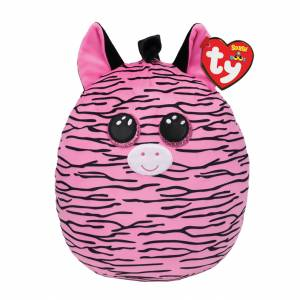 Ty Squish-A-Boo - Large Plush - Zoey the Pink Zebra