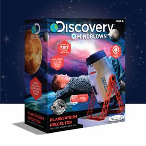 Discovery Mindblown - Planetarium Projector (2-in-1 Stars & Planet Projection)