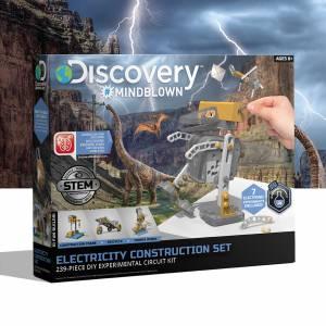 Discovery Mindblown - Electricity Construction Set (239-piece DIY Experimental Circuit Kit)
